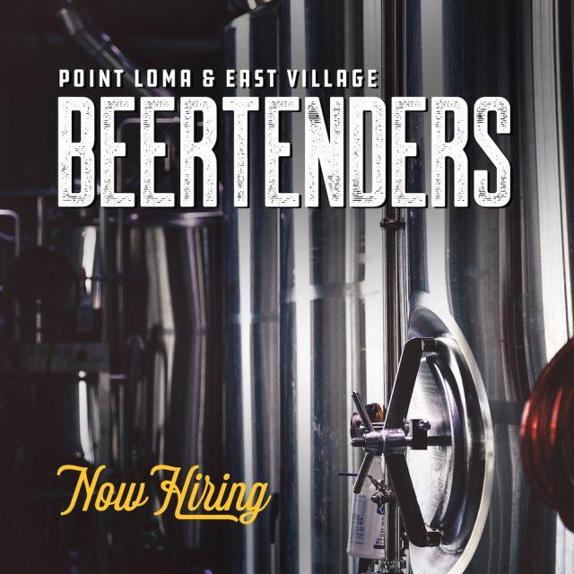Now Hiring Beertenders