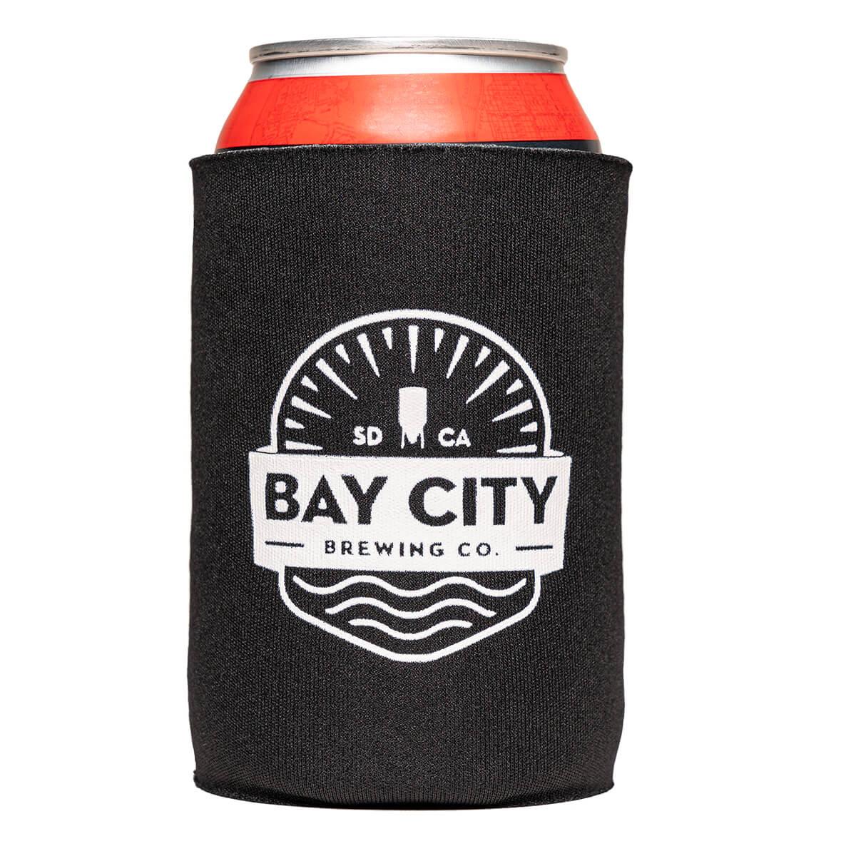 Bay-City-Beer-Jacket-Koozie-Front