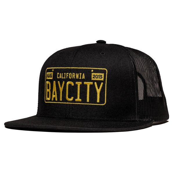 Bay-City-CaliLicensePlate-Hat-Side