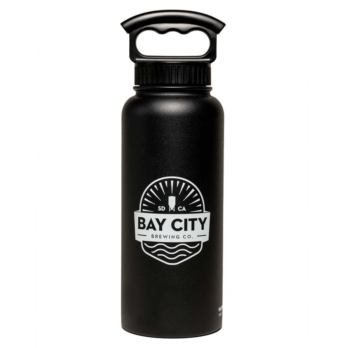 Bay-City-Growler-water-bottle-front