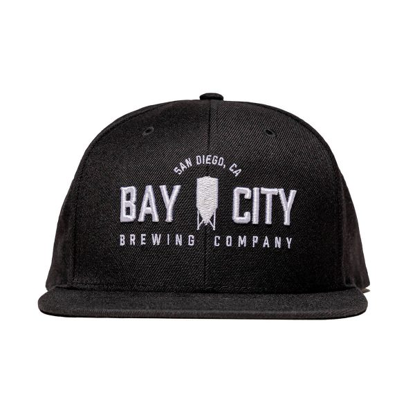 Bay-City-SignatureBayCity-FlatBill-Hat-Front